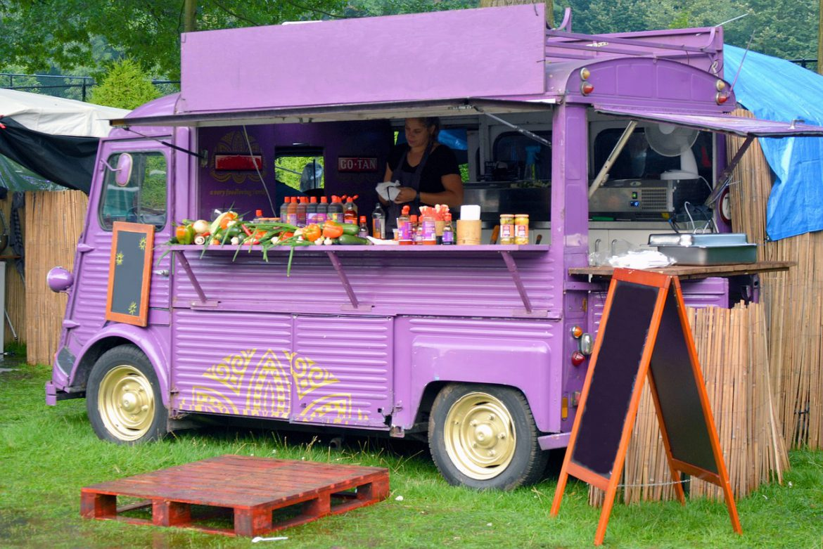opvallen foodtruck
